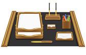 文房具のオフィスのベクトル図 — ストックベクタ