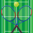 Stock Vector: Tennis vector