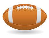 Ball for american football vector illustration — Stock Vector