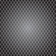 Mesh wire for fencing vector — Stok Vektör