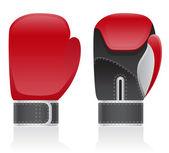 Boxing gloves vector illustration — Stock Vector
