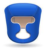 Boxing helmet vector illustration — Stock Vector