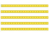 Maßband für Werkzeug Roulette Vektor-Illustration — Stockvektor