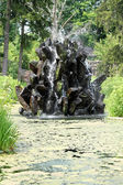 Stone water fountain — Stock Photo