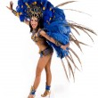 Stock Photo: Carnival dancer