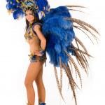 karnevalové tanečnice — Stock fotografie #22581497