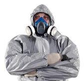 Lavoratore di controllo dei parassiti — Foto Stock