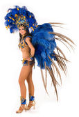 Carnival dancer — Stockfoto