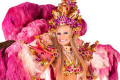Carnival dancer — Stock Photo