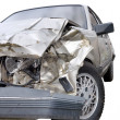 Car after crash — Stock Photo