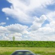 Car of the beautiful landscape — Stock Photo #25760783