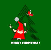 Christmas elfs — Stock Photo