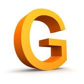 Letter G — Stock Photo