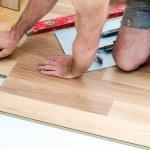 Floor installation — Stock Photo #38776301