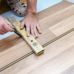 Floor installation — Stock Photo