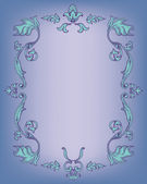 Ornamental decorated frame — Stock Vector