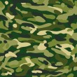 Pattern military camouflage - Stock Vector