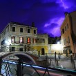 Heavy thunderstorm in Venice — Stock Photo #12320509