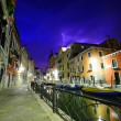 Dramatic thunderstorm in Venice — Stock Photo #12320518