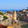 Wonderful evening in Vernazza village — Stock Photo