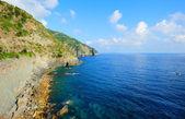 Paisagem de beira-mar do cinque terre — Fotografia Stock