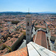 Duomo and Giotto campanila in Florence - Stock Photo