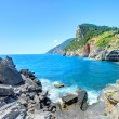 Byron's cave in the Gulf of Poets in Porto Venere — Stock Photo