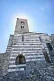 The church of St. Peter in Porto Venere — Stock Photo