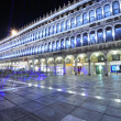 San Marco square at night — Stock Photo