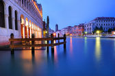 Grand canal in Venice in the evening — Stock Photo