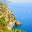 Seaside Cinque Terre scenery — Stock Photo