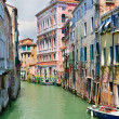 Venetian canal landscape — Stock Photo