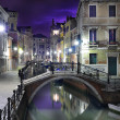 Dramatic scenery of Venice - Stock Photo