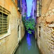 Stock Photo: Narrow Venetian canal