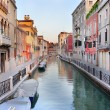 Picturesque evening Venetian landscape - Стоковая фотография