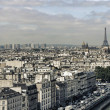 Paris cityscape — Stock Photo