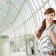 Traveling Asian woman — Stock Photo