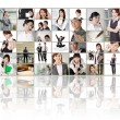 Business concept wall — Stock Photo