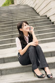 Asian business woman — Stock Photo