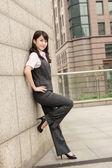 自信を持ってビジネスの女性 — ストック写真