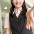 Shake hand with you — Stock Photo #22667817