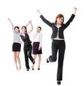 興奮してビジネス女性 — ストック写真