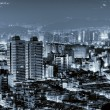Urban scenery in night - Stock Photo