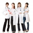 Stock Photo: Asidoctor team