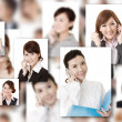 Wall of communication — Stock Photo