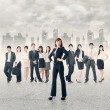 Confident business manager — Stock Photo