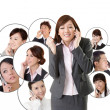 Business network — Stock Photo #24857657