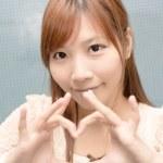 Attractive Asian girl — Stock Photo