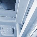 Interior of modern building — Stock Photo