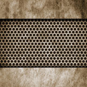 Plano de fundo texturizado metal — Foto Stock